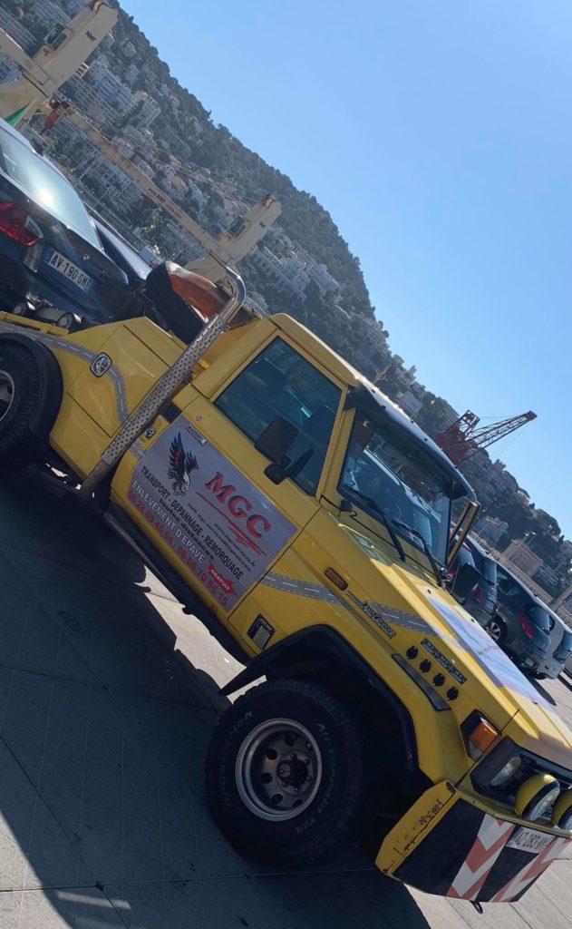 enlèvement épave Nice Port MGC Services