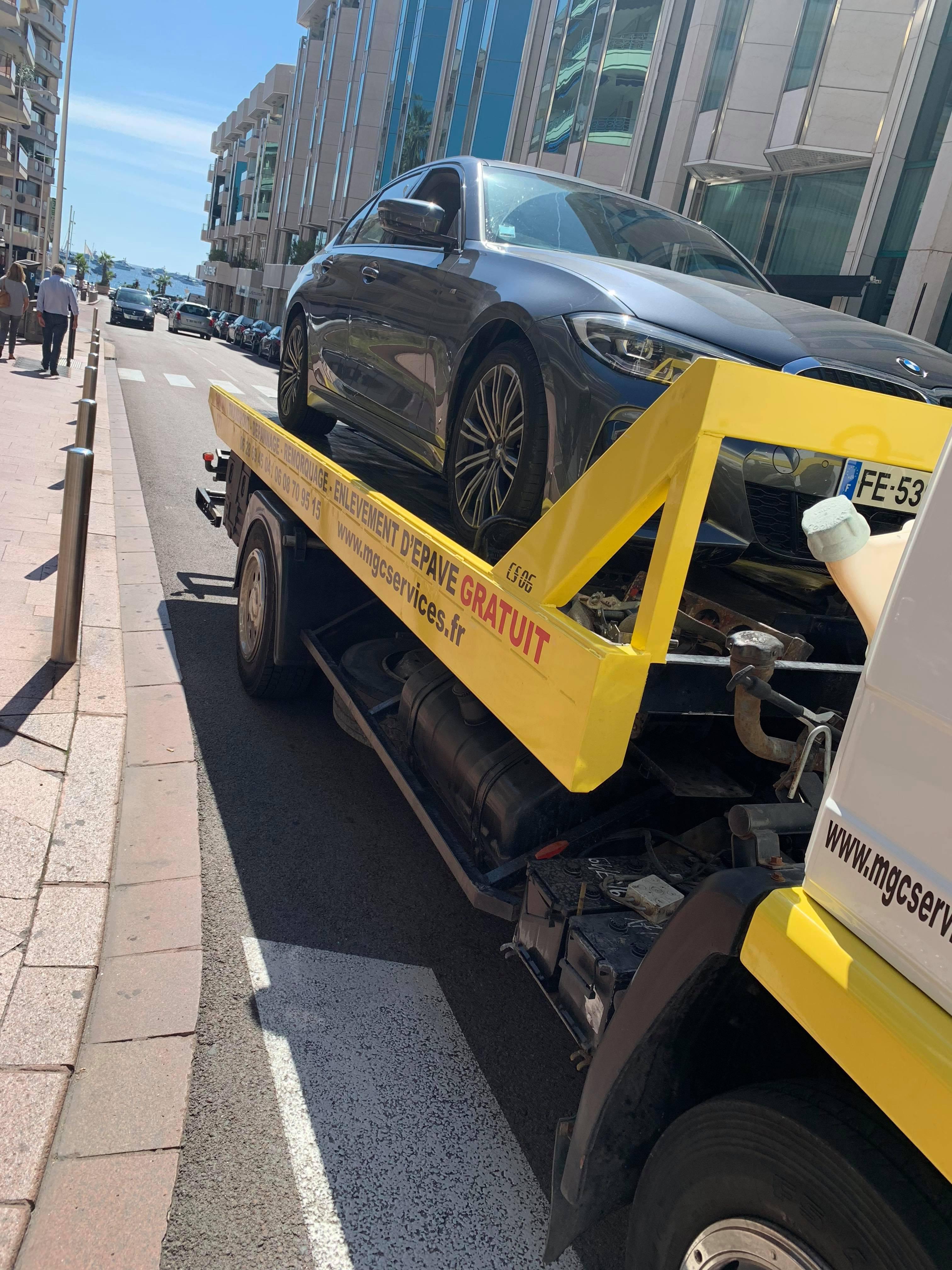 moteur cassé véhicule particulier Cannes Croisette - mgc services 06