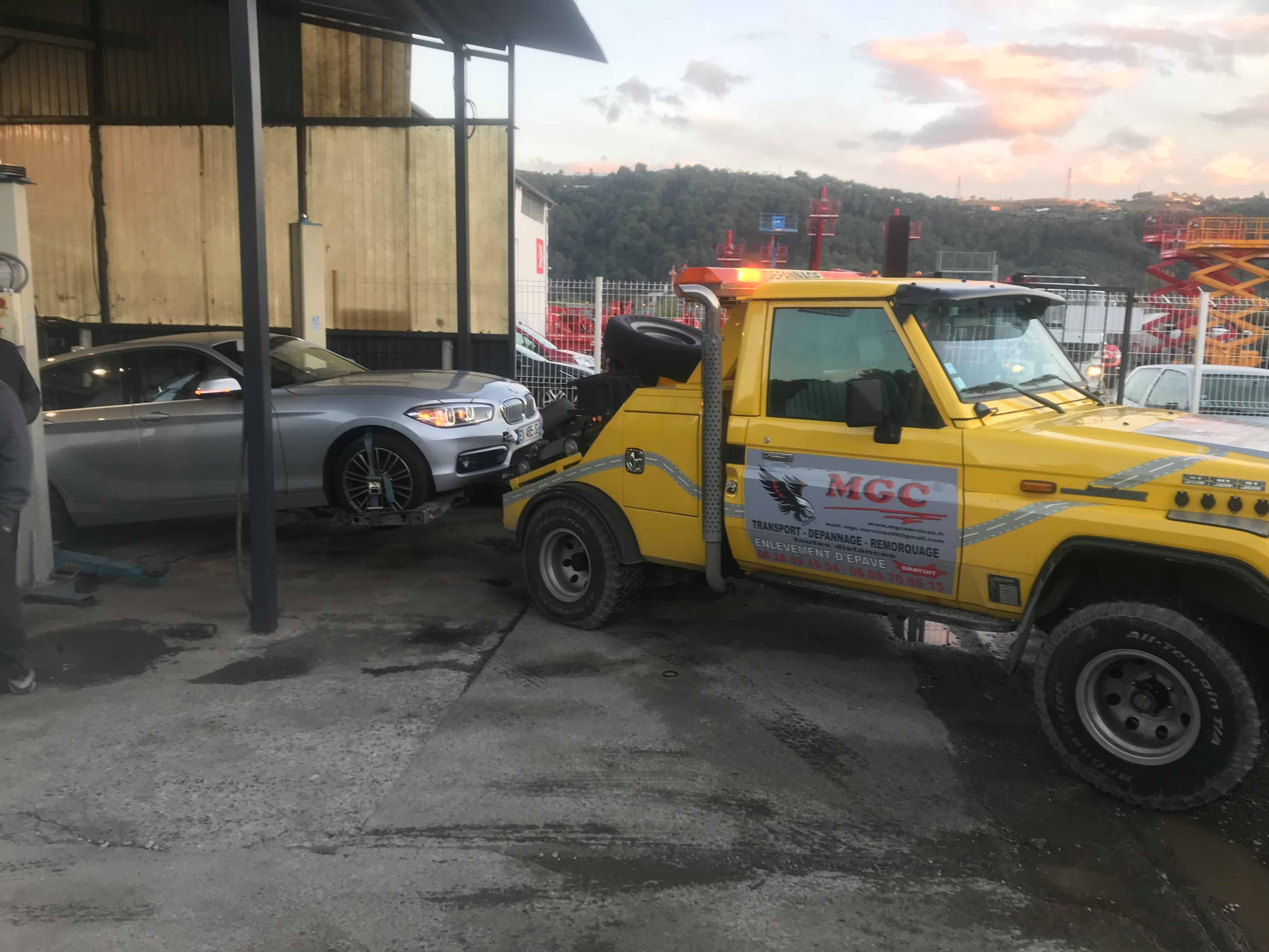 dépannage remorquage suite à erreur de carburant à Carros