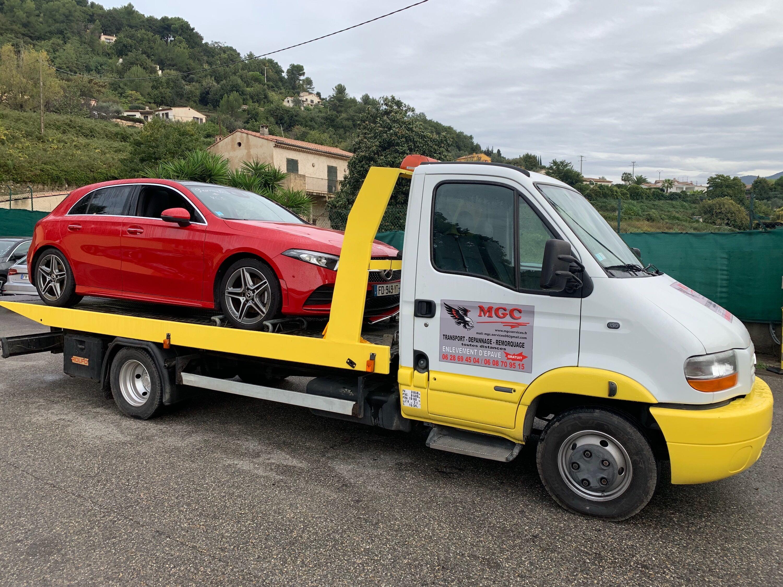 depannage voiture mercedes en panne à Nice