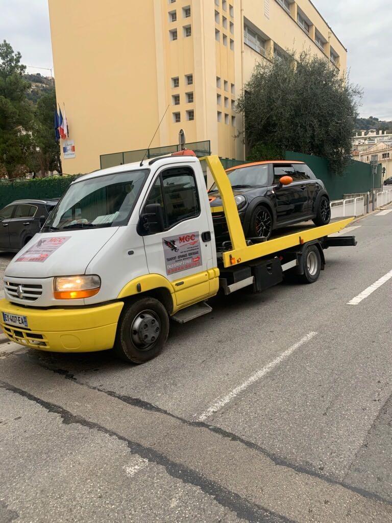 remorquage suite casse moteur villefranche carros